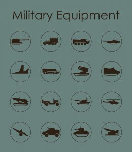 Military Equipment Shipping