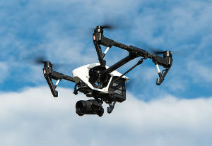 Drone Spying on Behalf of Illegal Migrants